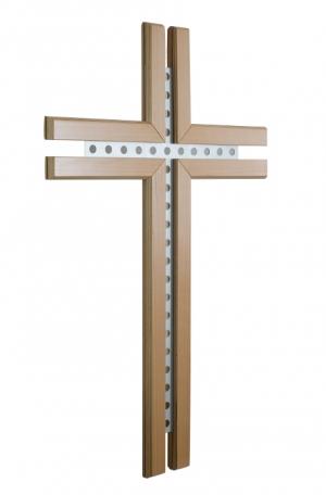 Crucifix correspondant au pupitre latéral
