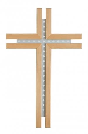 Crucifix correspondant au pupitre frontal