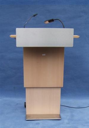 Pupitre de conférence STRASSBURG vue de face