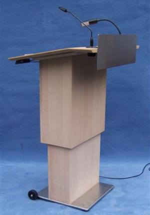 Pupitre de conférence STRASSBURG vue de face latérale